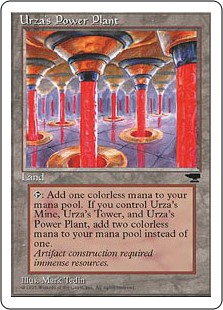 Urza's Power Plant (Columns)(HP)